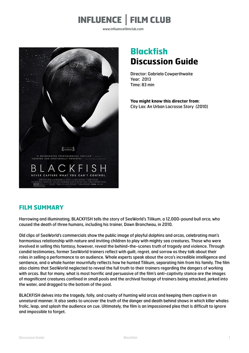 "blackfish essay Spring'14: persuasive essay may 3 this topic has been resurfaced in the media after the release of the documentary ""blackfish""."