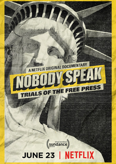 Nobody Speak: Trials Of The Free Press DVD