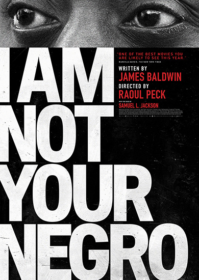 I Am Not Your Negro DVD cover