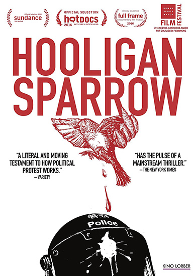 Hooligan Sparrow DVD Cover